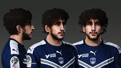 PES 2020 Faces Yacine Adli by Prince Hamiz