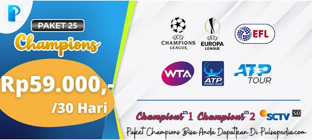 Paket Champions Nex Parabola Terbaru