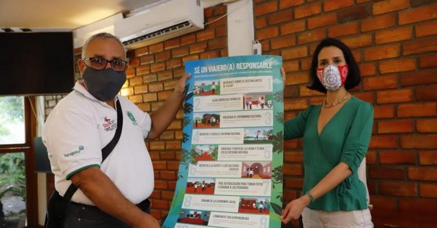 Destinos Alto Mayo en Moyobamba reciben sello Safe Travels otorgado por el Mincetur