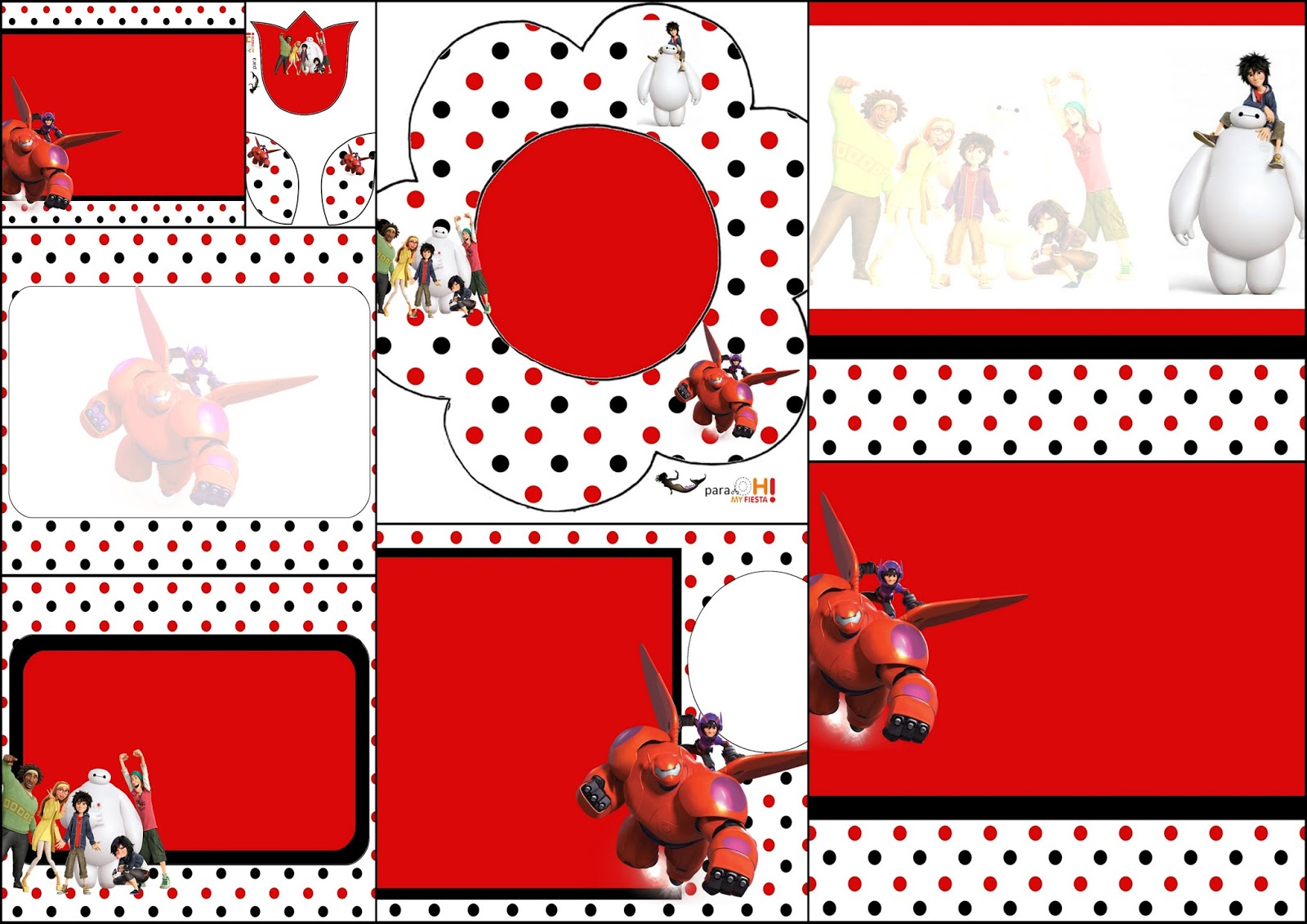 Big Hero 6 Invitaciones Para Imprimir Gratis Oh My