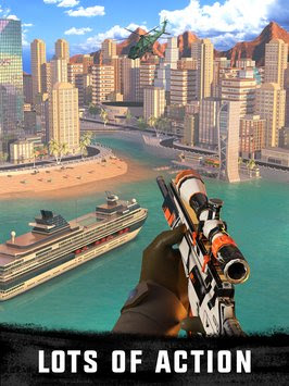 Sniper 3D Assassin: free (MOD Unlimited Coins)