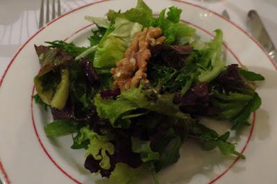 L'Entrecote, salad
