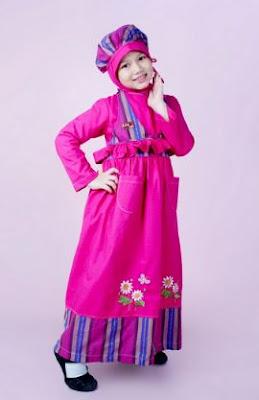 desain baju terbaru untuk anak muslimah