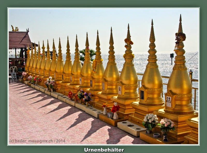 Buddhismus, Tempel, Wat, Hong Thong, Urnen