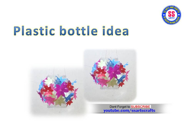 Here is plastic bottle crafts,DIY,RECYCLED PLASTIC BOTTLE CRAFTS,how to reuse plastic bottles at home,plastic bottle turned in to beautiful show piece,recycled plastic bottle craft ideas,how to make best out of waste from plastic bottle,what make things with plasic bottle,recycled,upcycle plastic bottle craft ideas,how to make room decor ideas with plastic bottle and paper ssartscrafts nanduri lakshmi youtube channel videos