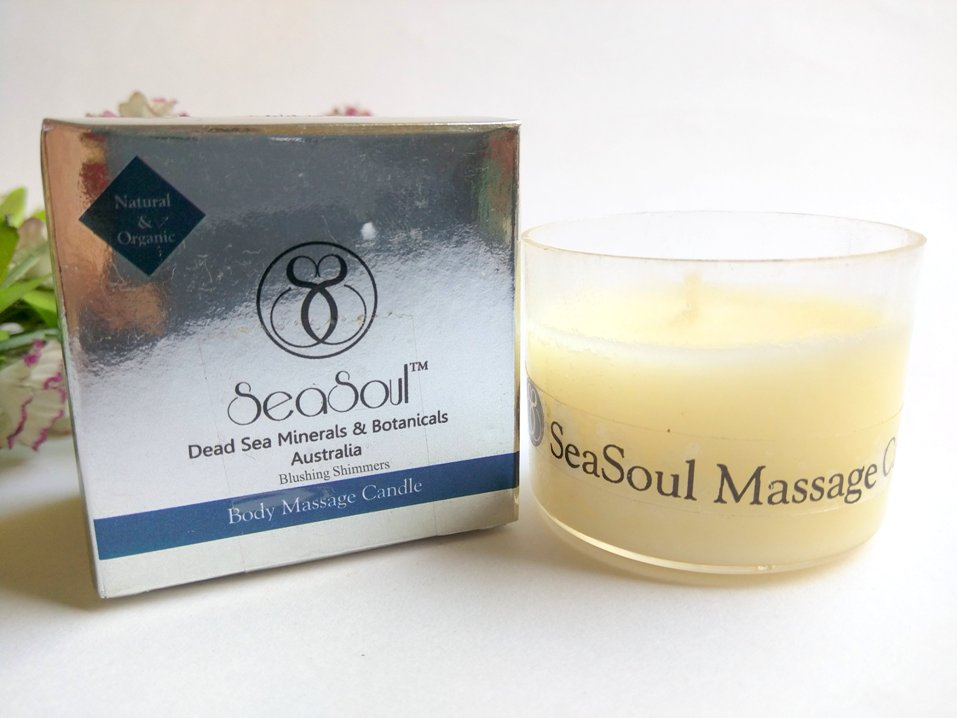 Sea Soul massage candle