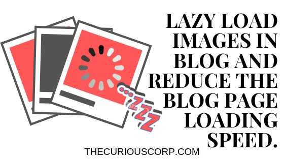 Lazyload images in blogger