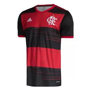 Camisa Flamengo I 20/21 s/n Torcedor Adidas Masculina