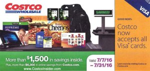 Current Costco Coupon July 2016