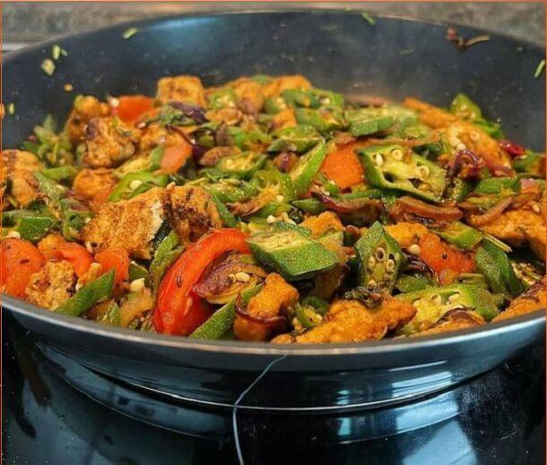 Best Mince Okra fry Recipe