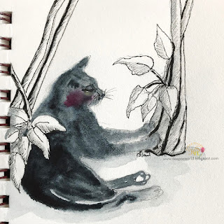 Inktober-Cats-Day14-HuesnShades