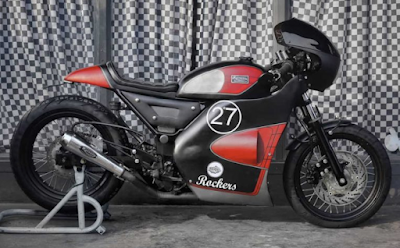 Modifikasi Cafe Racer Motor Ninja 250