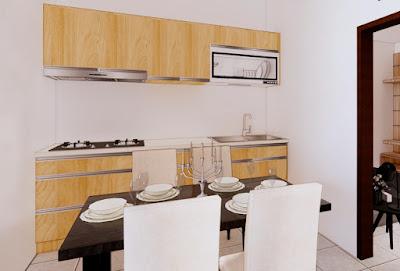 Dapur Rumah Minimalis 6x12