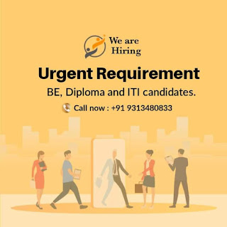 BE, Diploma and ITI Urgent Requirements Golden Opportunity For Freshers Candidates in Sanand, Gujarat.