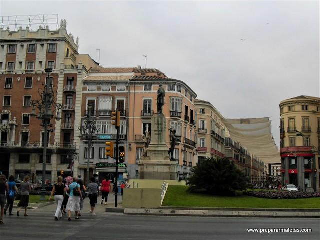 calles comerciales de Málaga