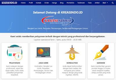 Pelayanan Kreasindoco Meliputi Seluruh Jabodetabek || KREASINDO.ID