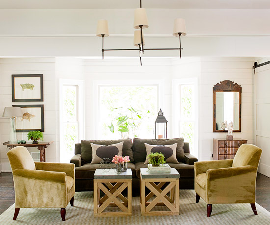 Modern Furniture: 2013 Country Living Room Decorating