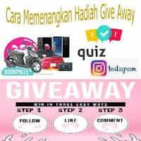 Kuis dan Give Away di Instagram Berhadiah Mobil