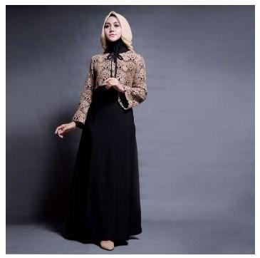 Baju Muslim Brokat Simple