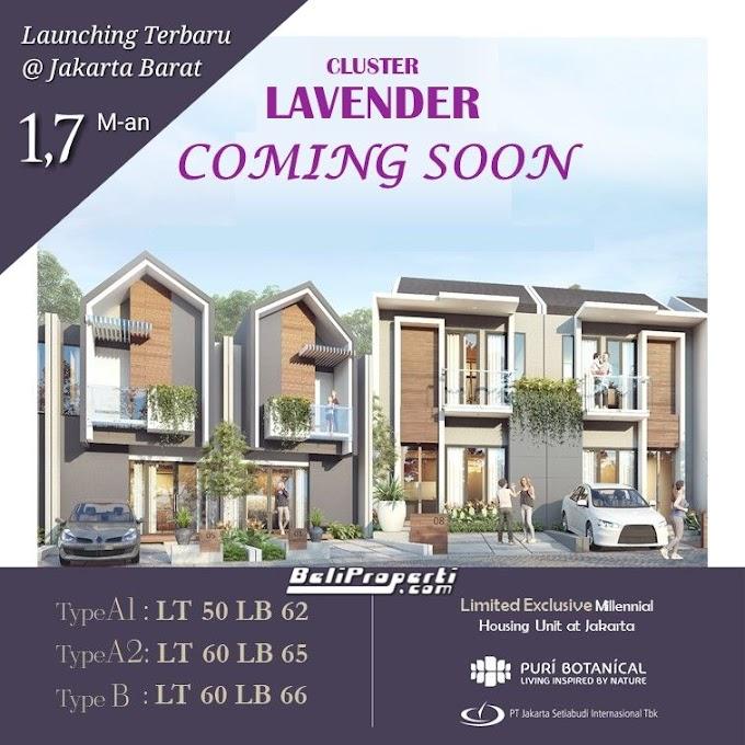 Cluster Lavender Puri Botanical Residence Jakarta Barat