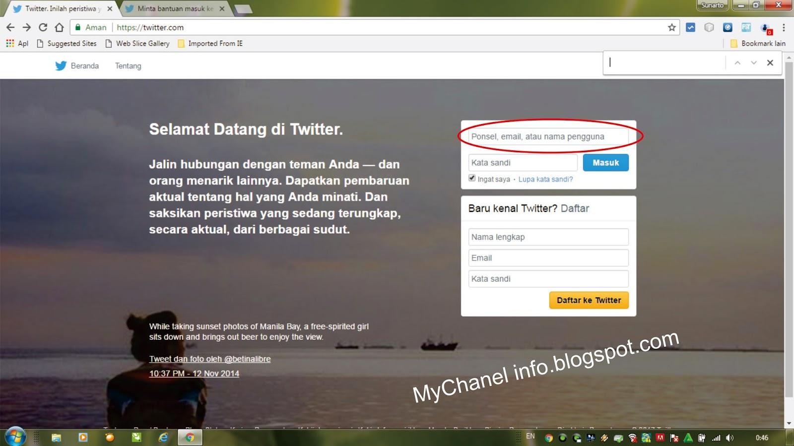 Cara Menghapus Akun Twitter Yang Lupa Pasword Dan Email