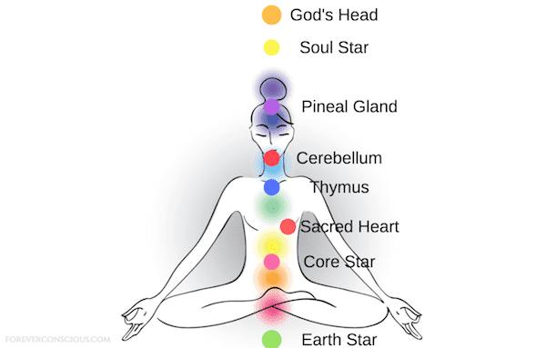معظمنا معتادا على سبعة مراكز الشاكرات أو الطاقة في الجسم. وعلى الرغم من هذه الشاكرات هي مراكز الطاقة الرئيسية في الجسم، لدينا في الواقع أكثر من 70،000 مراكز طاقة أخرى أصغر حجما منتشرة في جميع أنحاء الجسم مثل النجوم. في حين الشاكرات الجذر، العجزية، الضفيرة الشمسية والقلب والحنجرة والعين الثالثة و التاج هي الأقوى، وهناك ثمانية شاكرات بارزة أخرى التي هي تستحق الفهم. وتشمل هذه