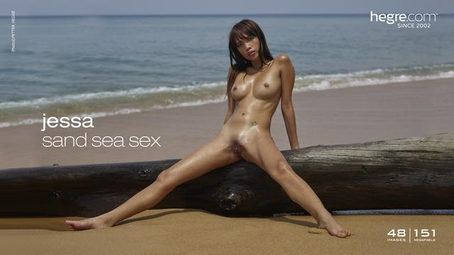 [Hegre-Art] Jessa - Sand Sea Sex - idols
