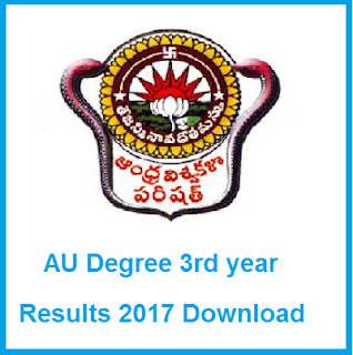 au degree final year results 2017