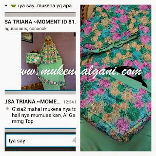 11251773_1455696378056253_2790306700046665494_n Dokter barbie Tika cantik wearing Mukena Najwa super duper Best Seller 😍