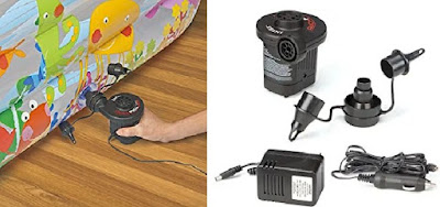 Intex Electric Air Pump - Suitable for Inflating Airbeds, Rafts, etc..