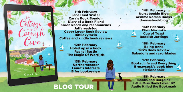 blog tour, modern fiction set in Cornwall, romance books set in Cornwall