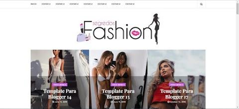 Templates para blog de moda Blogger