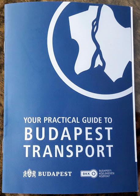 Opas Budapestin julkinen liikenne
