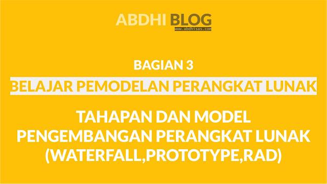 Tahapan dan Model Pengembangan Perangkat Lunak Bagian 1- Belajar Pemodelan Perangkat Lunak 3