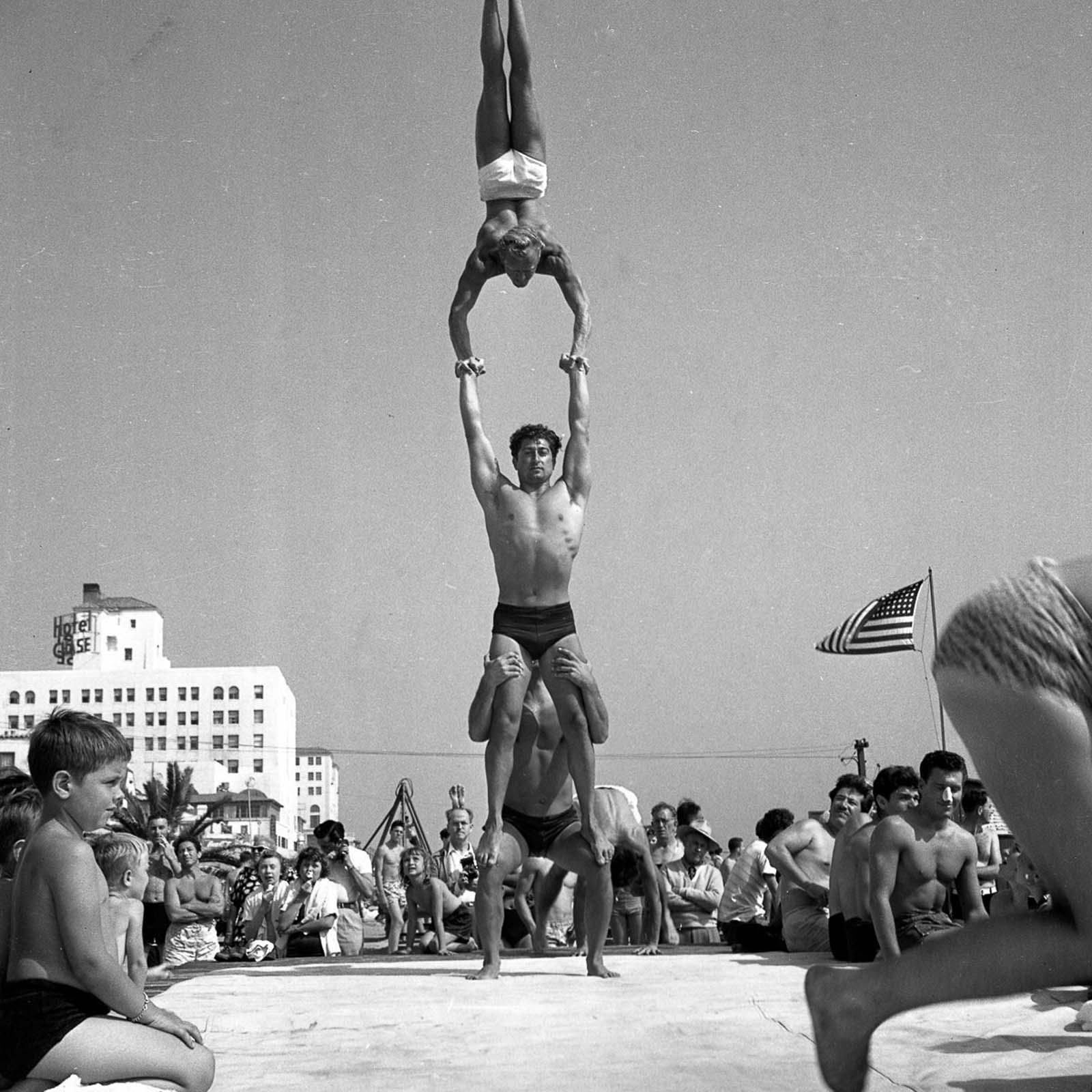 Muscle Beach was home to many of the pioneers of the fitness world.