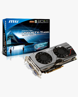 Vga Card MSI N560 TI Hawk Series