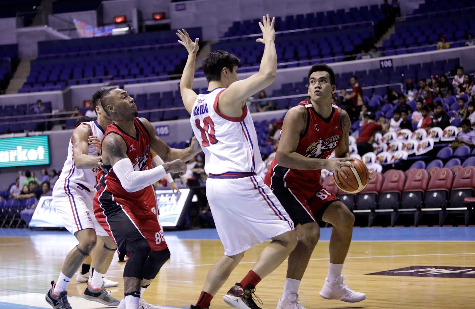 Alaska trips Columbian with 31-point rout