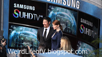 Bryan Tee and Bryce Dallas Howard - Jurassic World Premiere