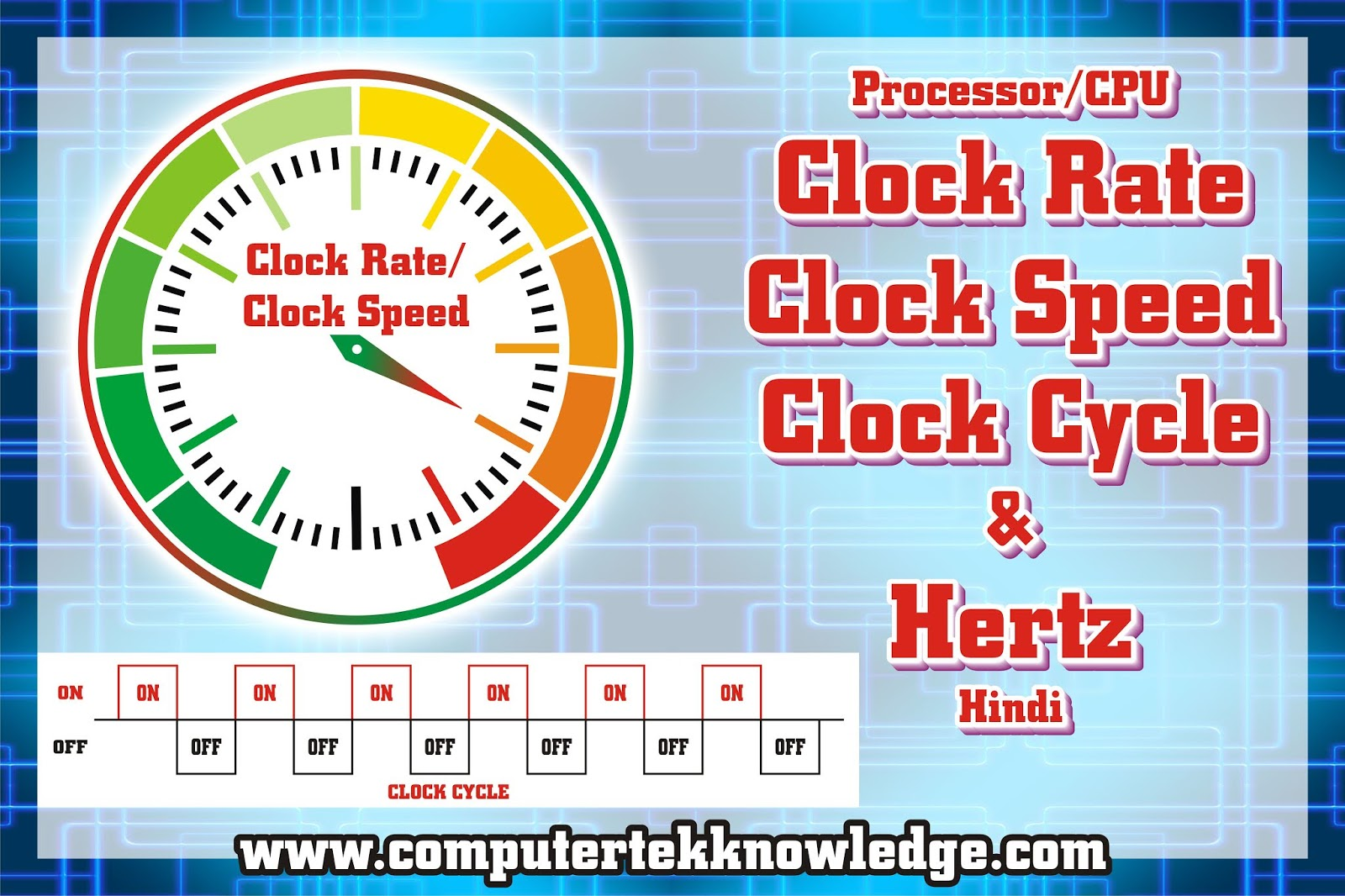 what is CPU-Frequency-Clock-Rate-Clock-Speed-Clock-Cycle-Hertz-Hindi