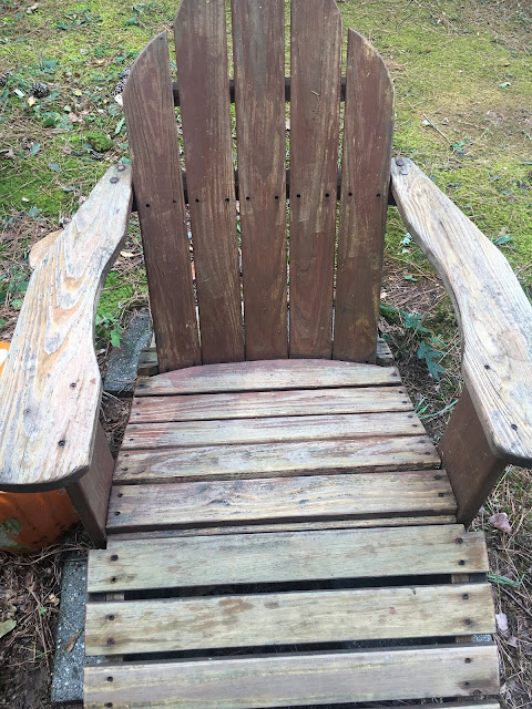 Wood Chair after cleaning