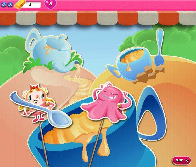 Candy Crush Saga 1596-1610