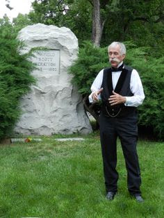 Richard Marold portraying Winfield Scott Stratton Evergreen Heritage Annual Walking Tour
