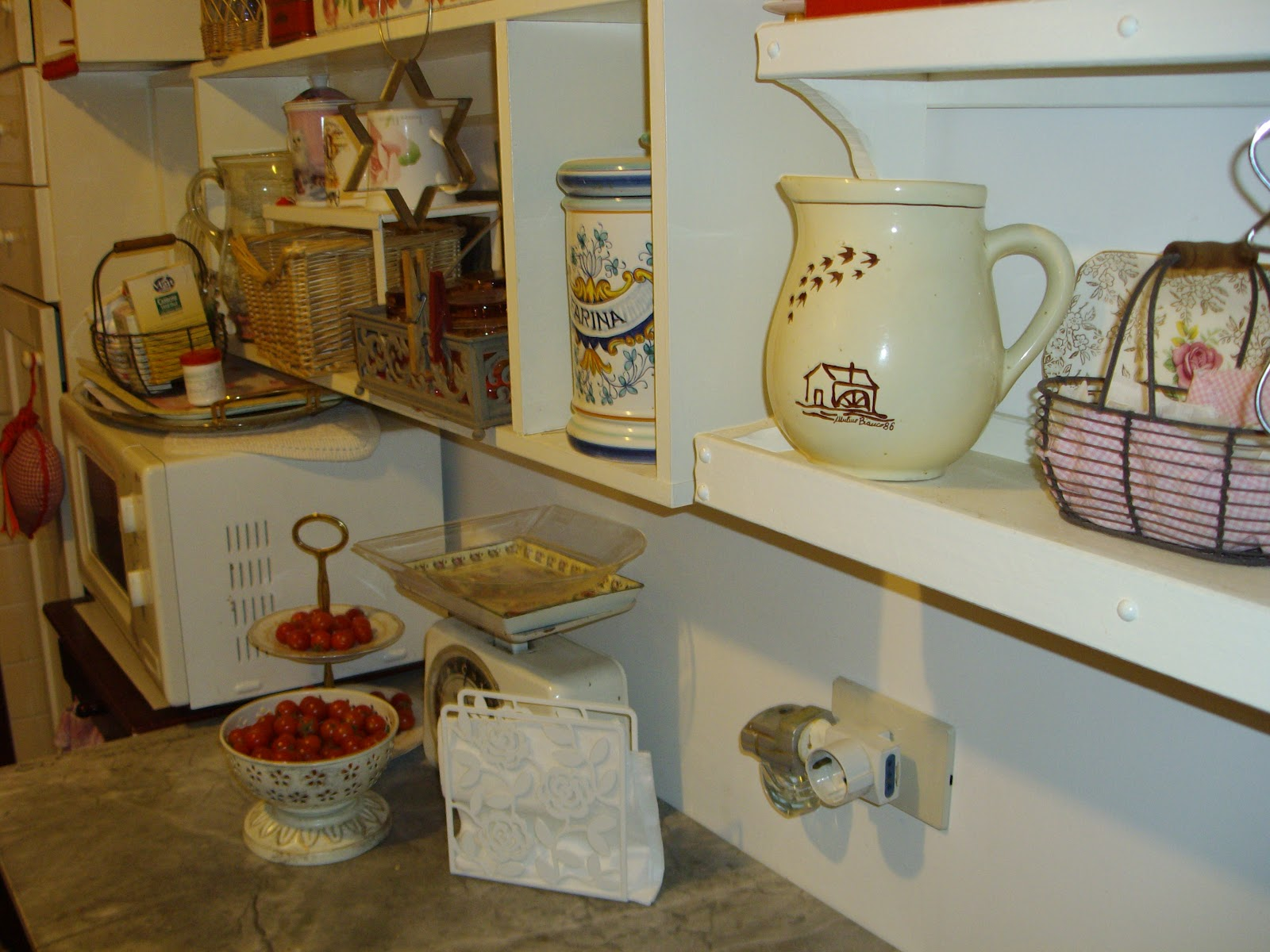 Bilancia Cucina Shabby Re Chic Le Vintage And Shabby Chic Vignettes