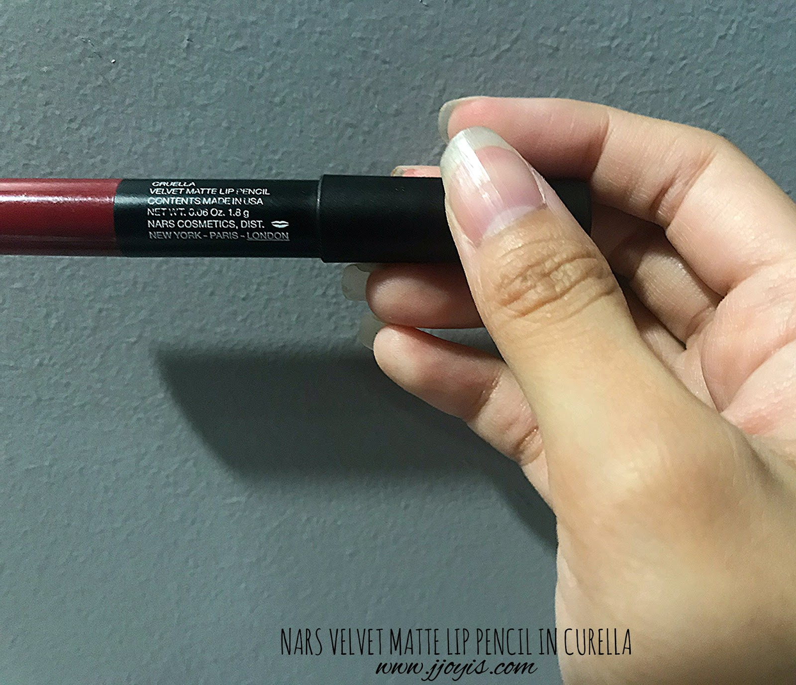 nars velvet matte lip pencil curella review