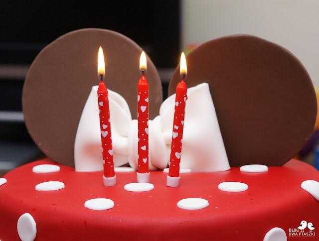 tort urodzinowy minni