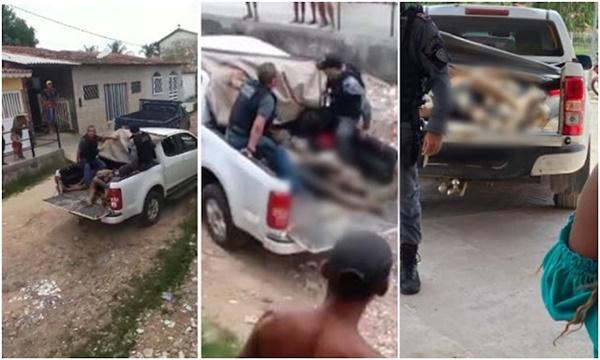 Três bandidos morrem em confronto com a Polícia Militar após latrocínio no interior do Maranhão