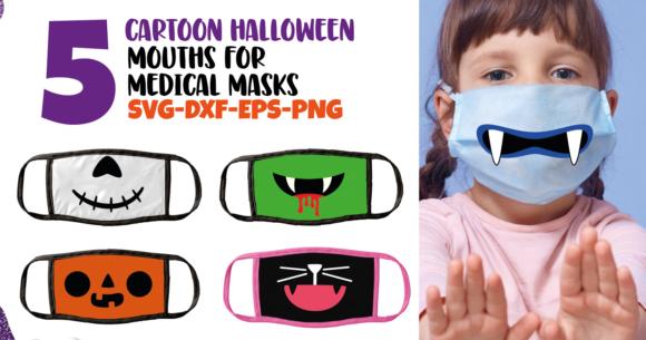 Halloween Mouths Face Mask