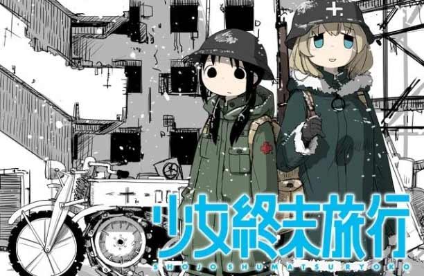 Anime Mystery Terbaik - Shoujo Shuumatsu Ryokou