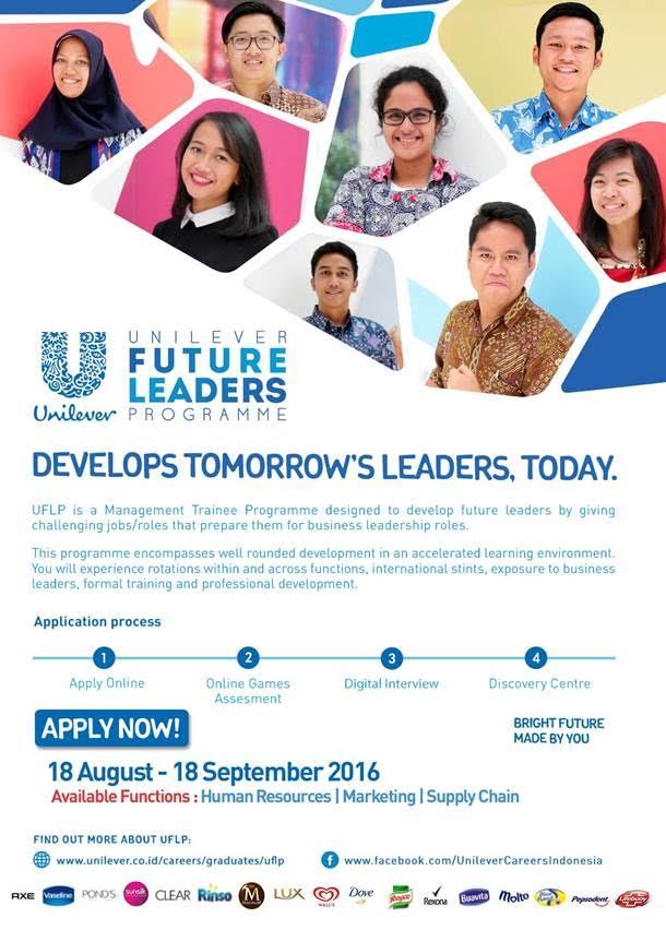 Lowongan Kerja PT. Unilever Indonesia Agustus 2016