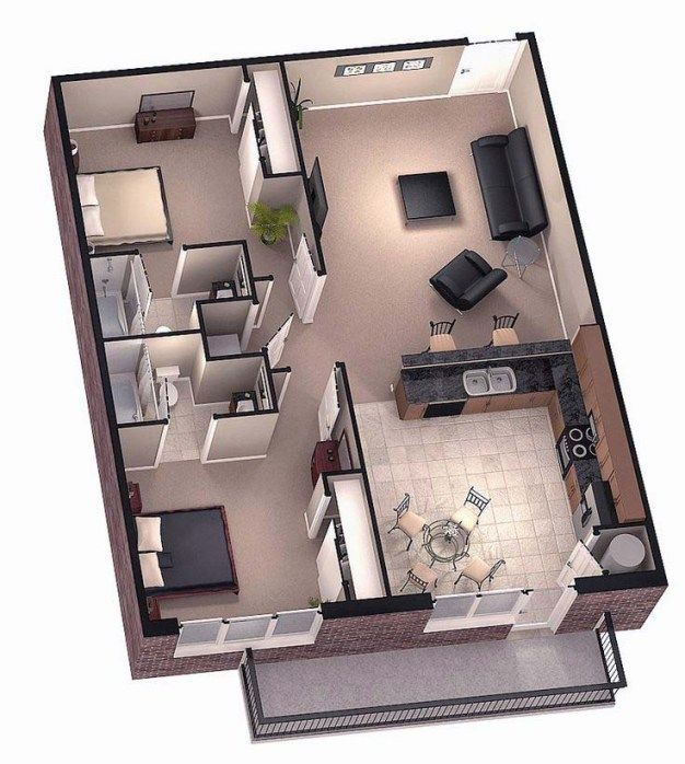 Home Design 3d For Windows 8: Stylish Home 3D Floor Plans